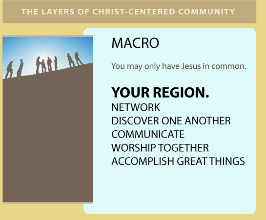 Macro: Your Region - You May Only Have Jesus in Common